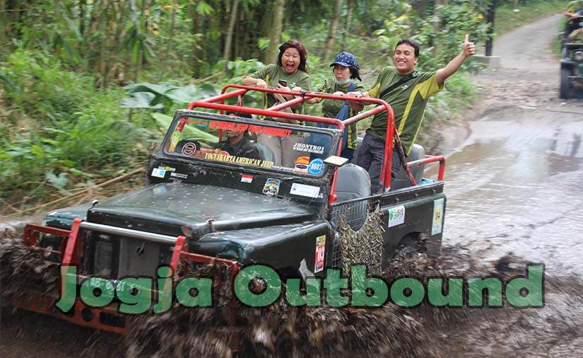Lokasi Outbound Merapi, Outbound Merapi Kaliurang